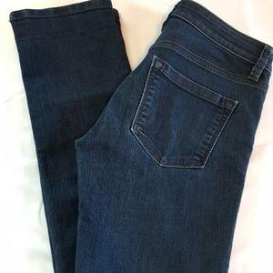 LOFT Modern Straight Dark Wash Jeans size 25